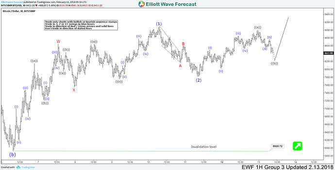 Elliott Wave Analysis: Calling the low in place in Bitcoin