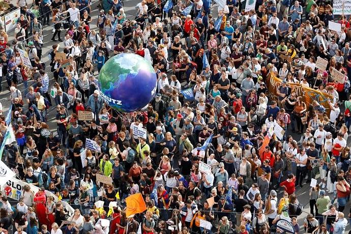 Global warming - 3 - mob rally