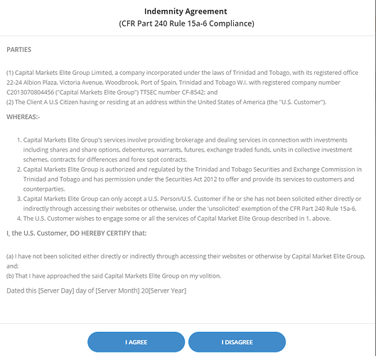 CME Group Indemnity Agreement