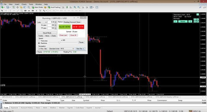 Forex simulator program