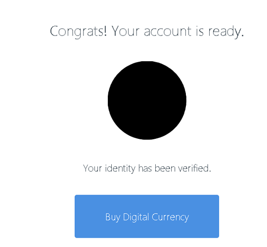Coinbase-verification-confirmation