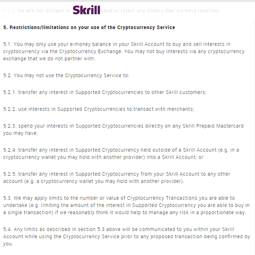 Skrill - Cryptocurrency Service - 1
