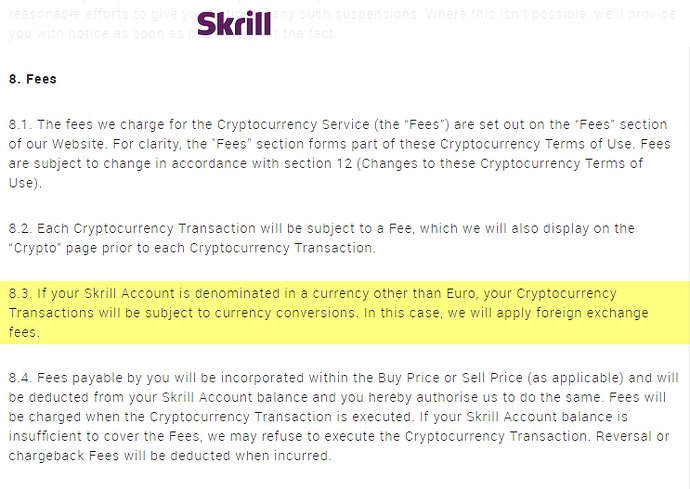 Skrill - Cryptocurrency Service - 2