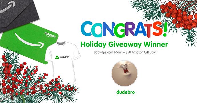 Congratulations-dudebro