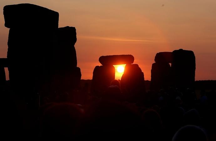 Winter solstice Stonehenge - 2