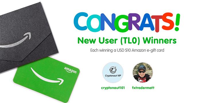 Congratulations TL0 Winners