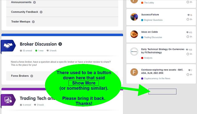 BP forum suggestion - 1