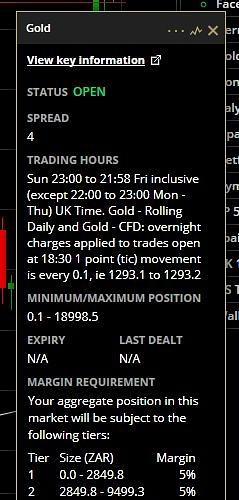 ETX Gold Info