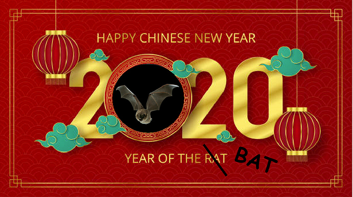 Chinese year of the BAT