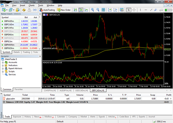 FEB Trade 1