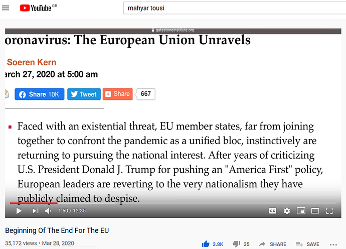 Coronavirus EU Unravels