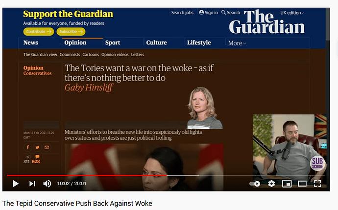 woke Guardian