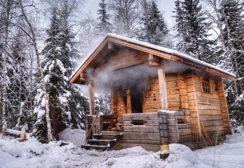 sauna night