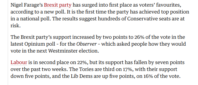 observer poll 2nd june 2019