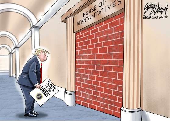 Trump wall cartoon - 13