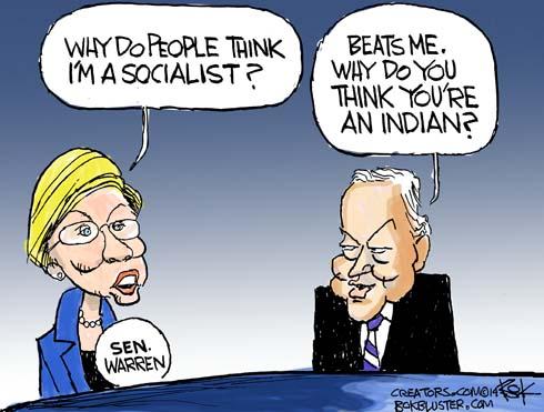 Elizabeth Warren - 9
