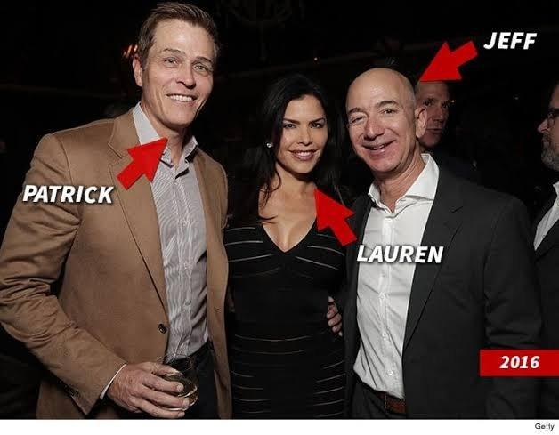 Bezos, Sanchez, and Whitesell