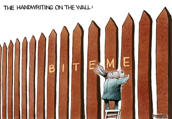 Trump wall cartoon - 9