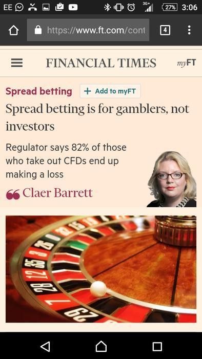 Forex spread betting forum