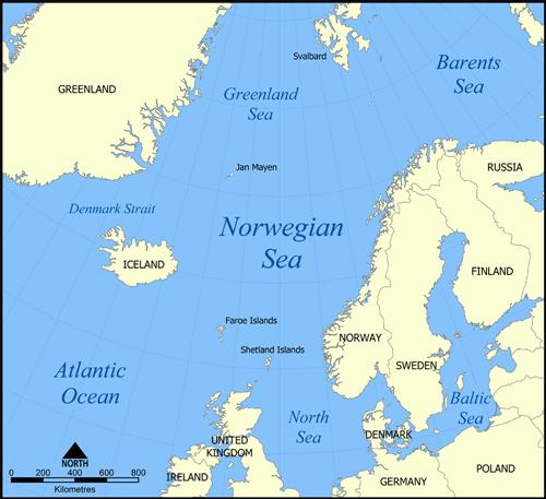 Norway - seas