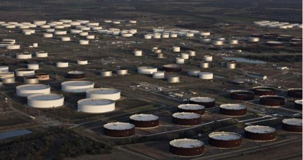 Cushing oil hub