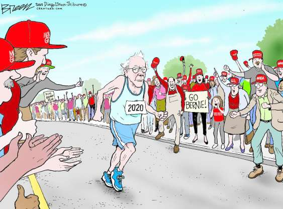 cartoon - Bernie - 9