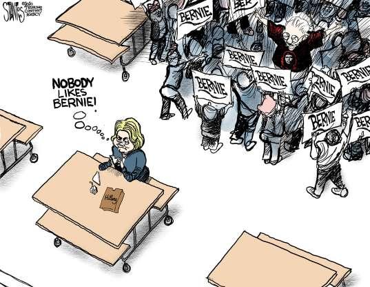 cartoon - Bernie - 5