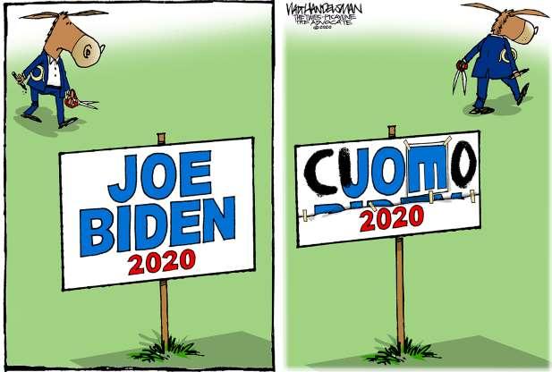cartoon - campaign 2020 - 21