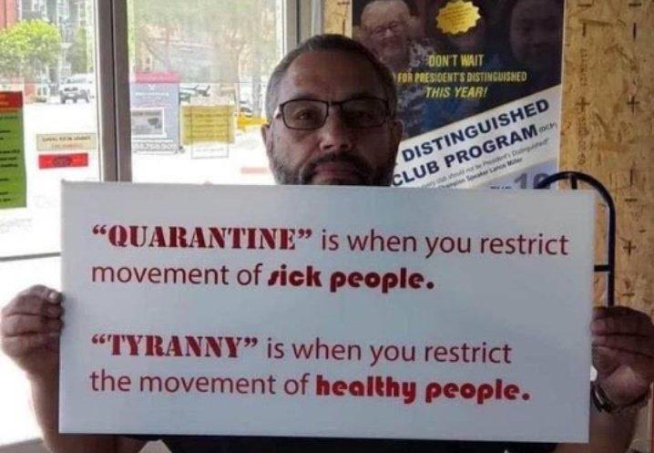 Quarantine or Tyranny