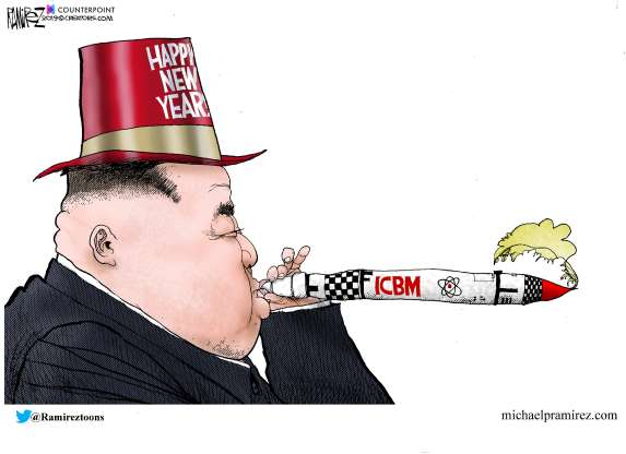 cartoon - North Korea - 1