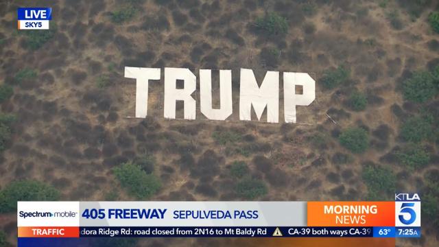 Trump Sign in Los Angeles
