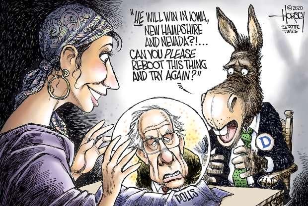 cartoon - Bernie - 6