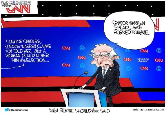 cartoon - Bernie - 4