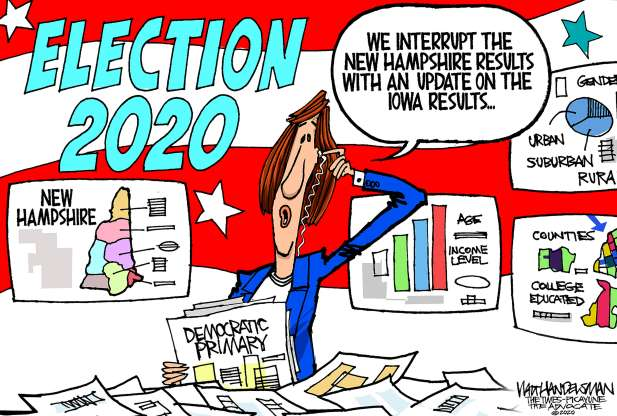cartoon - Iowa caucuses - 8